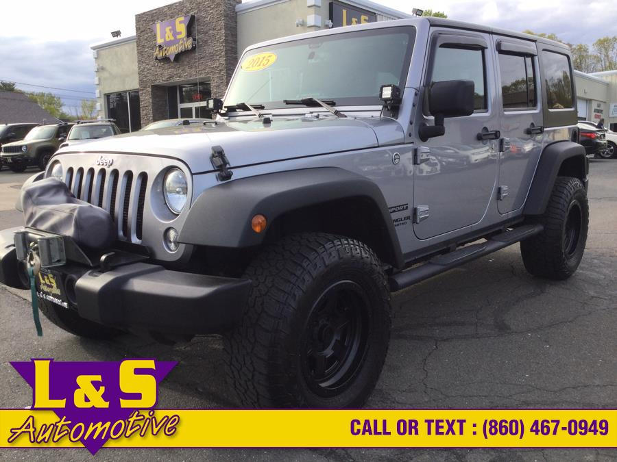 Used Jeep Wrangler Unlimited 4WD 4dr Sport 2015 | L&S Automotive LLC. Plantsville, Connecticut