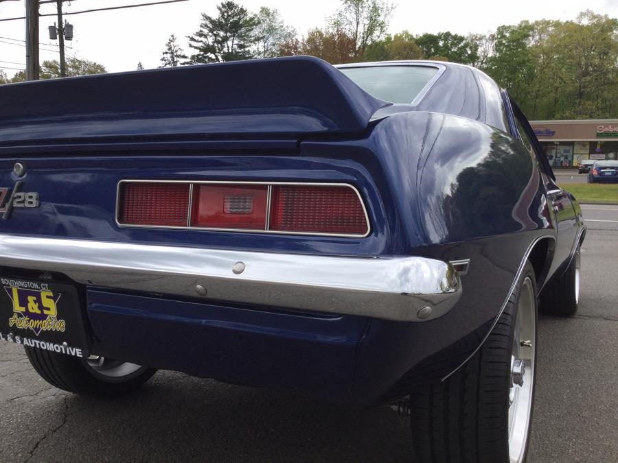 Used Chevrolet Camaro Z28 1969   L&S Automotive LLC. Plantsville, Connecticut