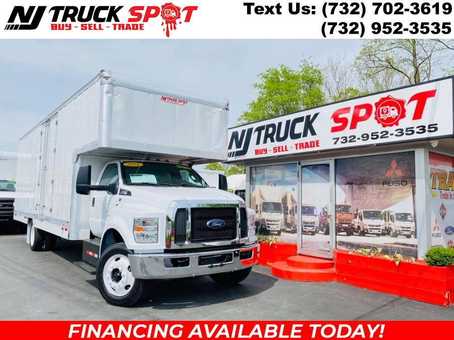 Used 2016 Ford Super Duty F-650 Straight Frame Gas in South Amboy, New Jersey | NJ Truck Spot. South Amboy, New Jersey