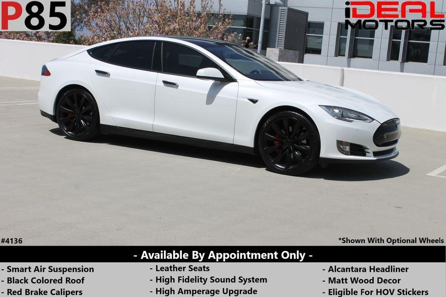 Used Tesla Model s P85 Sedan 4D 2014 | Ideal Motors. Costa Mesa, California