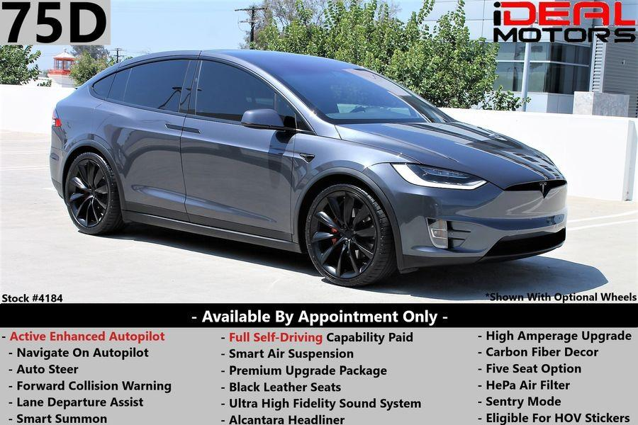 Used 2017 Tesla Model x in Costa Mesa, California | Ideal Motors. Costa Mesa, California