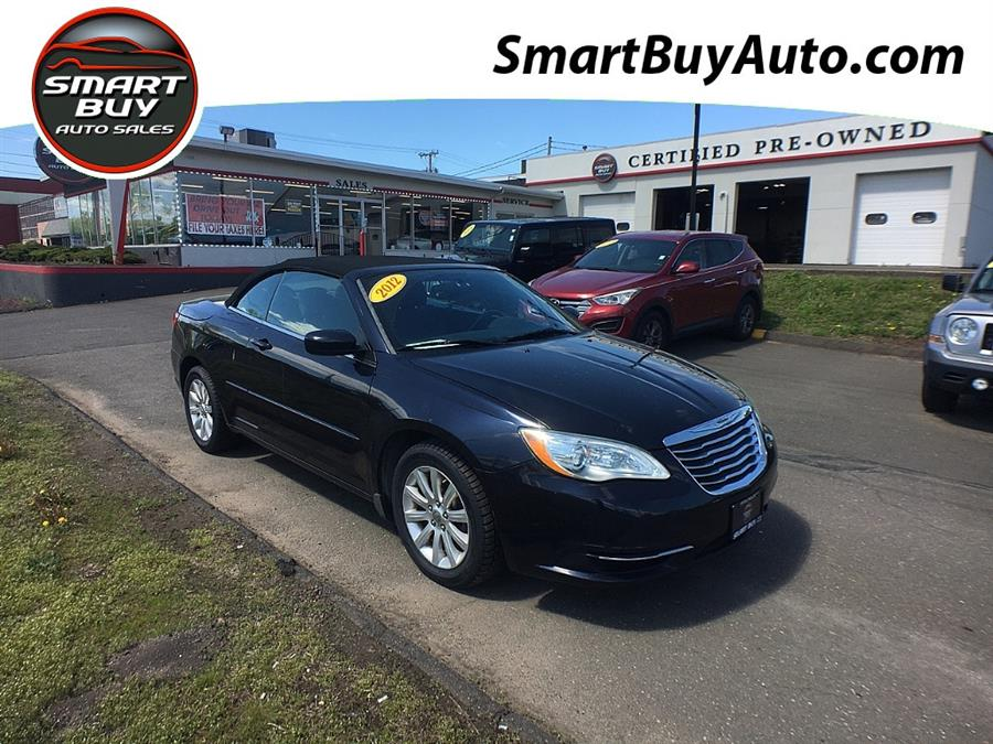 Used Chrysler 200 2dr Conv Touring 2012 | Smart Buy Auto Sales, LLC. Wallingford, Connecticut