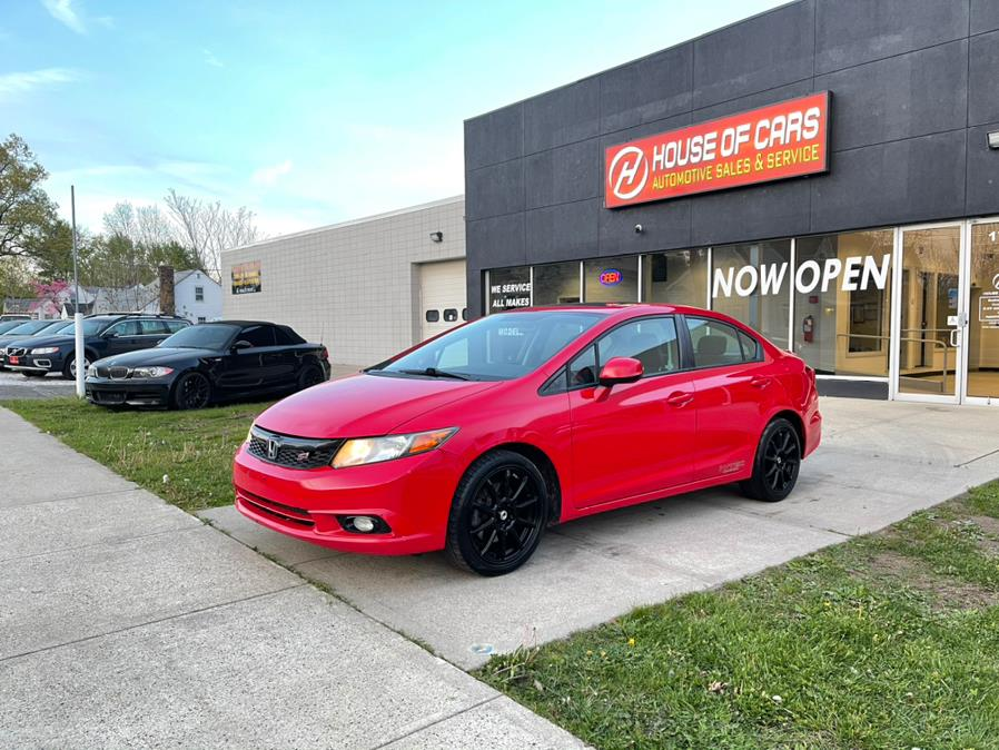 Used Honda Civic Sdn 4dr Man Si w/Navi 2012 | House of Cars CT. Meriden, Connecticut