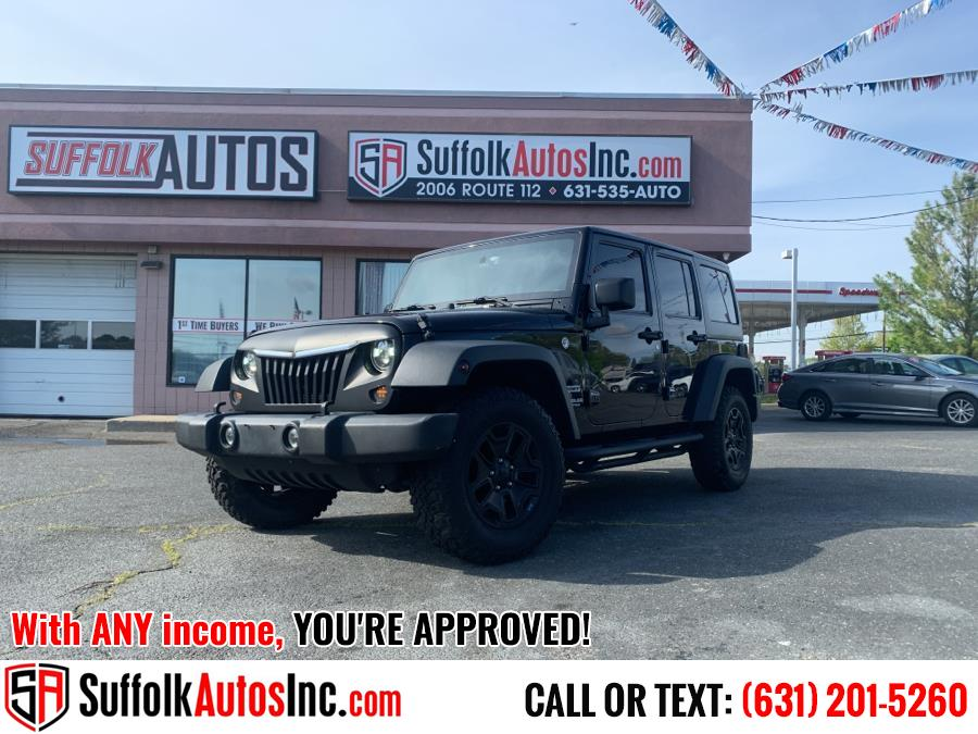 Used Jeep Wrangler Unlimited 4WD 4dr Sport 2016 | Suffolk Autos Inc. Medford, New York