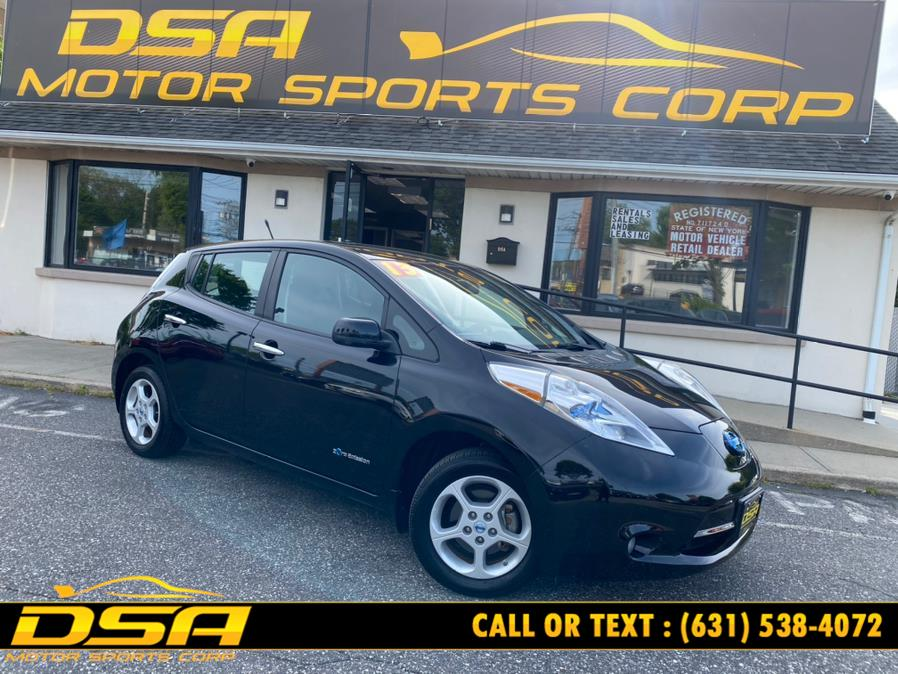 Used Nissan LEAF 4dr HB SV 2013 | DSA Motor Sports Corp. Commack, New York