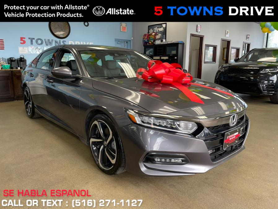 Used Honda Accord Sedan Sport 1.5T CVT 2019   5 Towns Drive. Inwood, New York