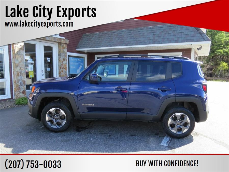 Used Jeep Renegade Latitude 4x4 4dr SUV 2016 | Lake City Exports Inc. Auburn, Maine
