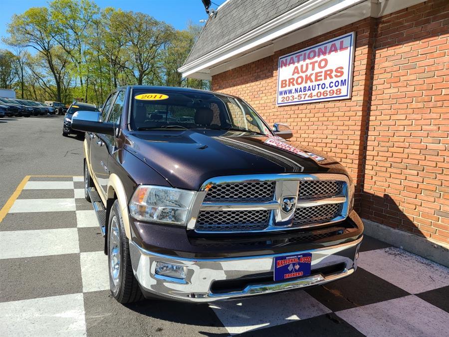 Used Ram 1500 Larime 4WD Crew Cab Sport 2011 | National Auto Brokers, Inc.. Waterbury, Connecticut