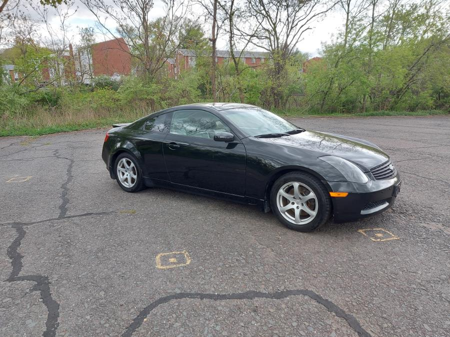 Used 2006 Infiniti G35 Coupe in West Hartford, Connecticut   Chadrad Motors llc. West Hartford, Connecticut