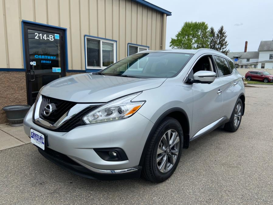 Used Nissan Murano 2017.5 AWD SL 2017 | Century Auto And Truck. East Windsor, Connecticut