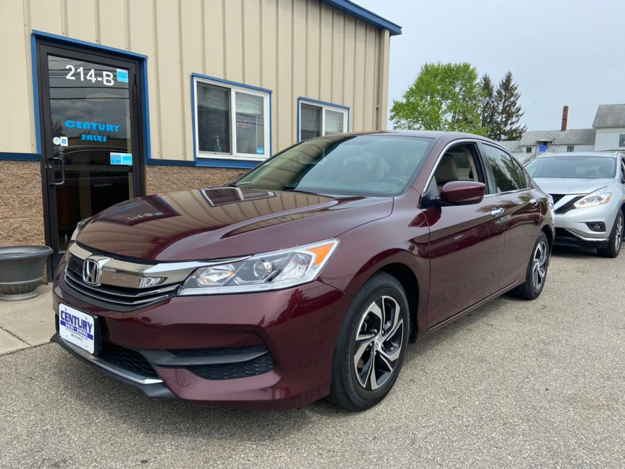 Used 2017 Honda Accord Sedan in East Windsor, Connecticut | Century Auto And Truck. East Windsor, Connecticut