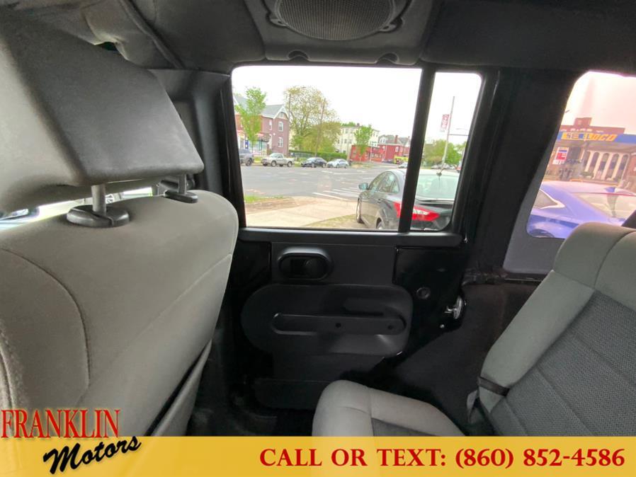 Used Jeep Wrangler Unlimited 4WD 4dr Sahara 2010 | Franklin Motors Auto Sales LLC. Hartford, Connecticut