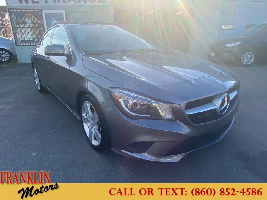 Used 2015 Mercedes-Benz CLA-Class in Hartford, Connecticut | Franklin Motors Auto Sales LLC. Hartford, Connecticut