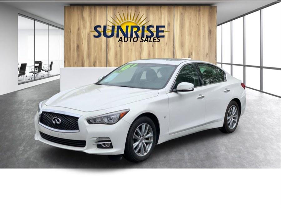 Used 2015 INFINITI Q50 in Rosedale, New York   Sunrise Auto Sales. Rosedale, New York