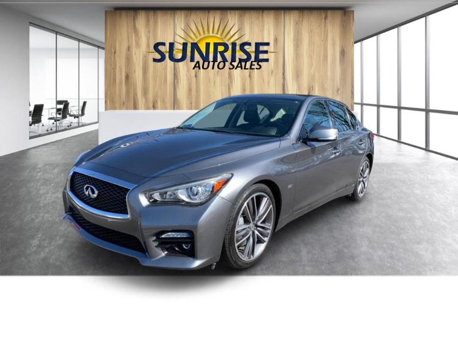 Used 2016 INFINITI Q50 in Rosedale, New York   Sunrise Auto Sales. Rosedale, New York