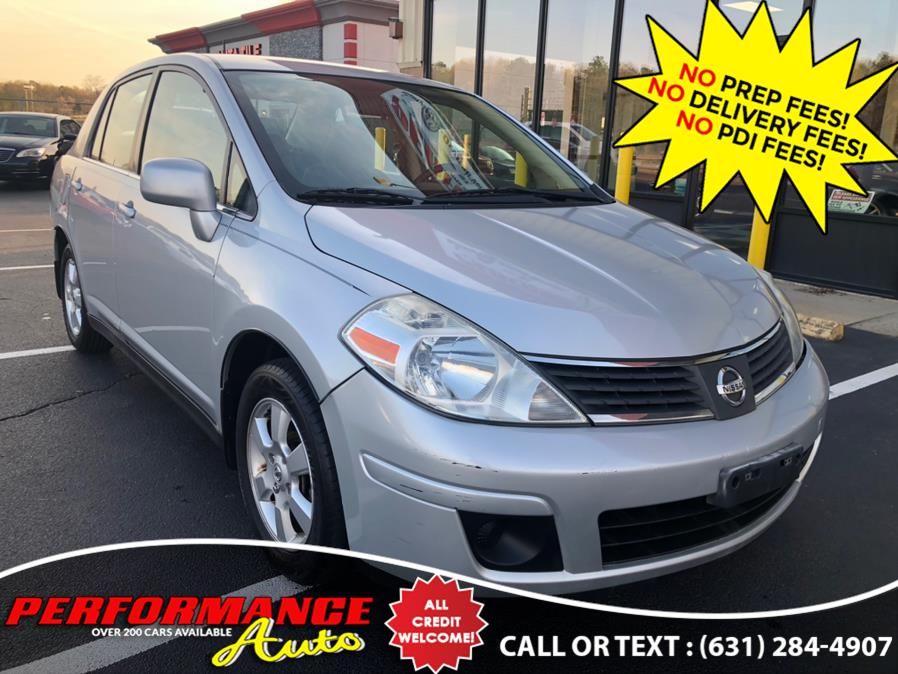 Used Nissan Versa 4dr Sdn I4 Auto 1.8 SL 2009 | Performance Auto Inc. Bohemia, New York