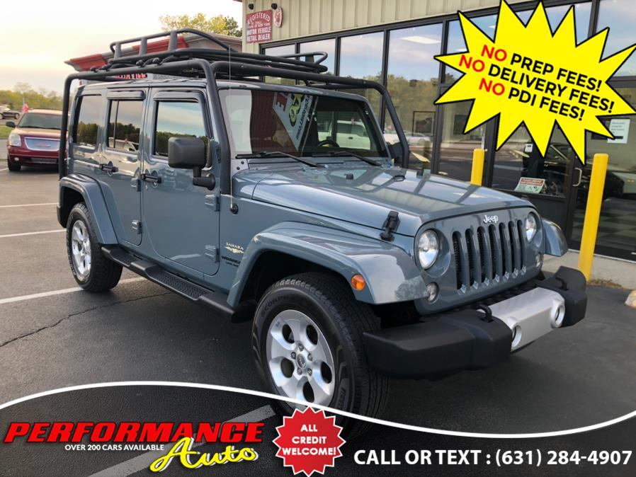 Used 2014 Jeep Wrangler Unlimited in Bohemia, New York | Performance Auto Inc. Bohemia, New York