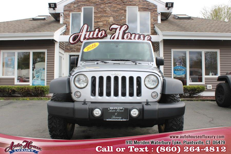Used Jeep Wrangler Unlimited 4WD 4dr Sport 2016 | Auto House of Luxury. Plantsville, Connecticut