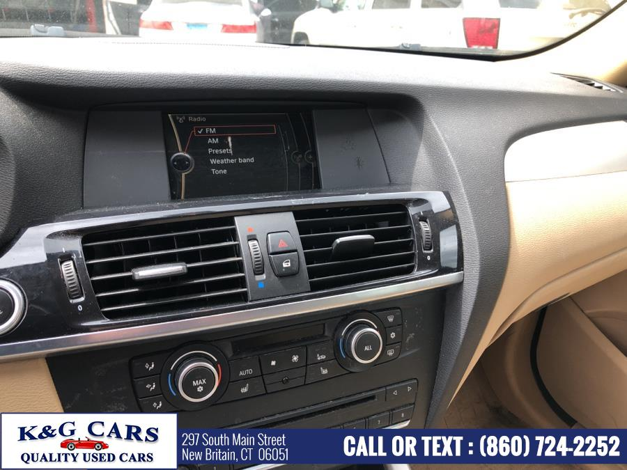 Used BMW X3 AWD 4dr 28i 2012 | K and G Cars . New Britain, Connecticut