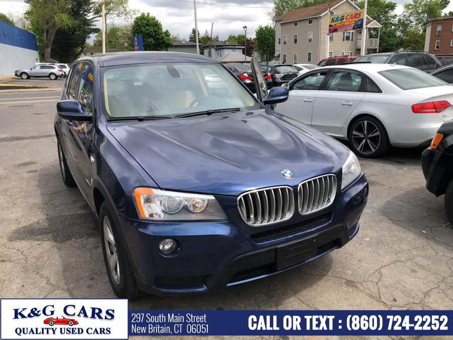 Used 2012 BMW X3 in New Britain, Connecticut | K and G Cars . New Britain, Connecticut