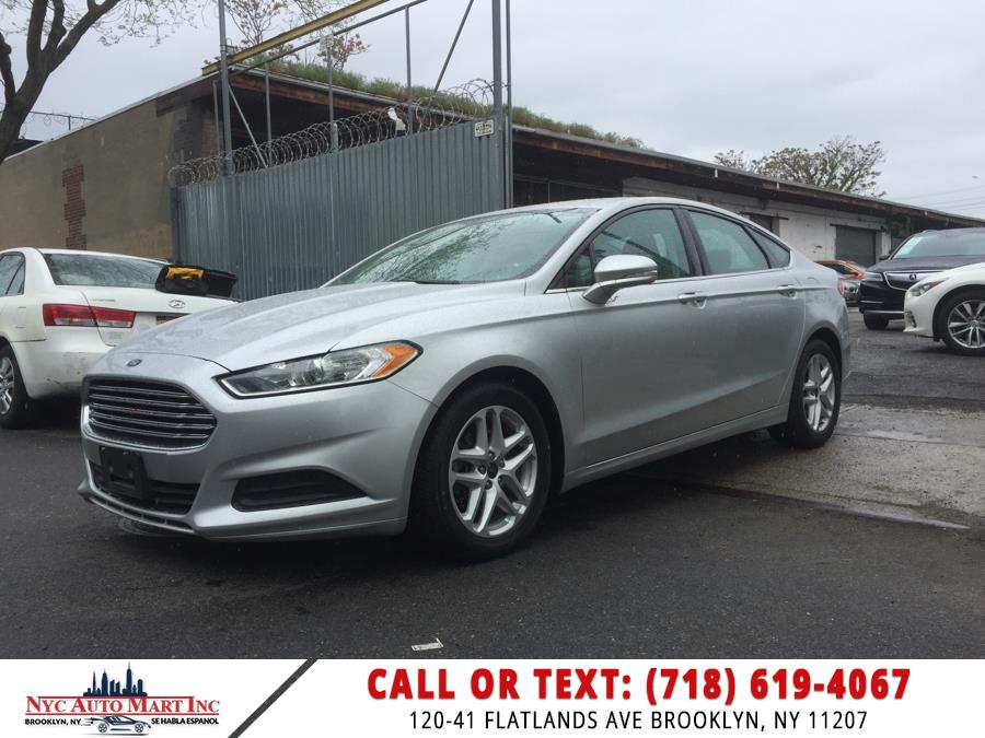 Used Ford Fusion 4dr Sdn SE FWD 2016   NYC Automart Inc. Brooklyn, New York