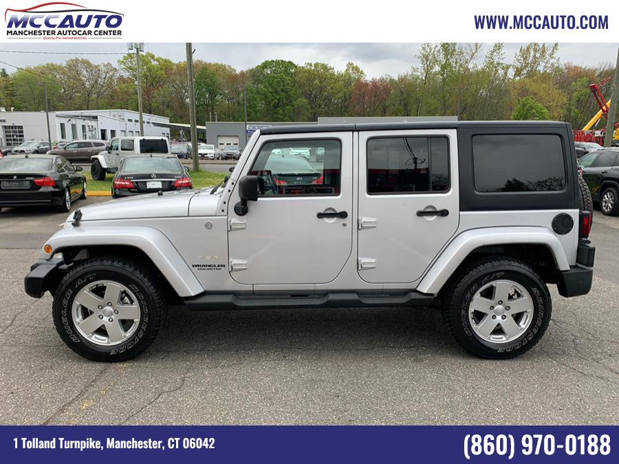 Used Jeep Wrangler Unlimited 4WD 4dr Sahara 2011   Manchester Autocar Center. Manchester, Connecticut