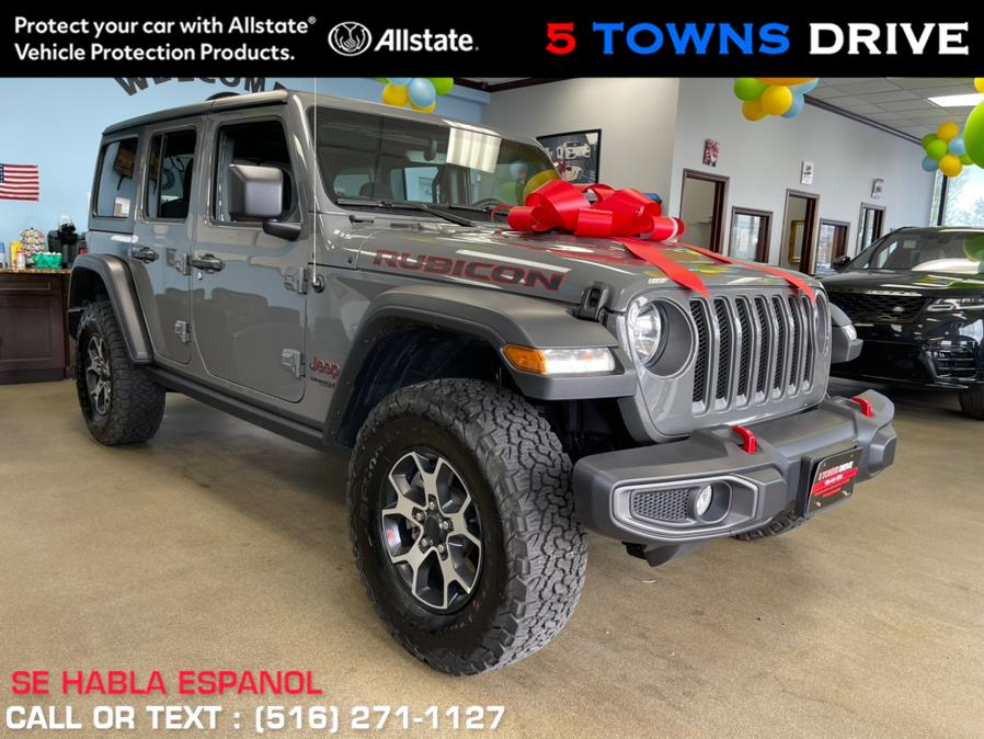 Used Jeep Wrangler/CONVERTIBLE HARD TOP Unlimited Rubicon 4x4 2021   5 Towns Drive. Inwood, New York