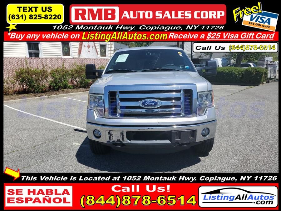 Used Ford F-150 XLT 4x4 4dr SuperCrew Styleside 5.5 ft. SB 2011 | www.ListingAllAutos.com. Patchogue, New York