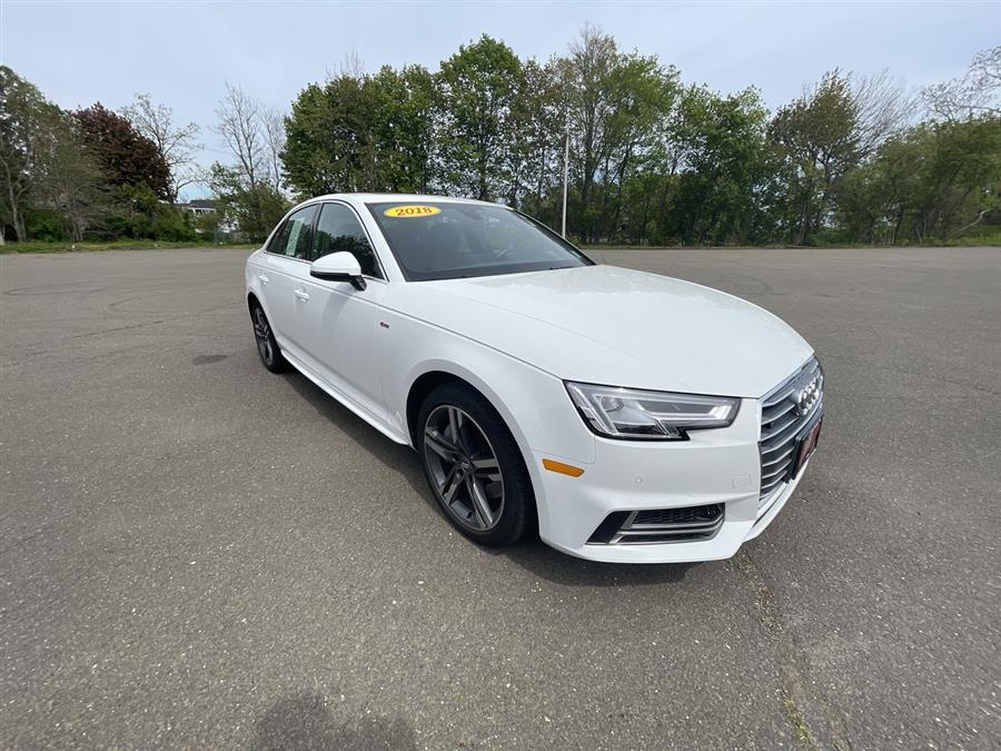 Used 2018 Audi A4 in Stratford, Connecticut | Wiz Leasing Inc. Stratford, Connecticut