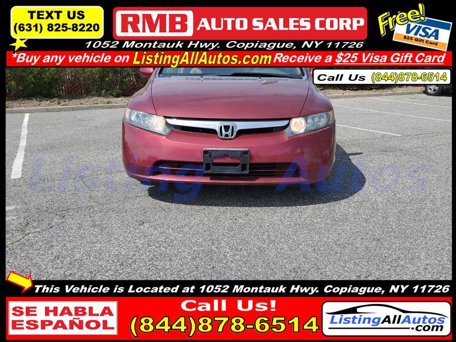 Used Honda Civic LX 4dr Sedan (1.8L I4 5A) 2007 | www.ListingAllAutos.com. Patchogue, New York