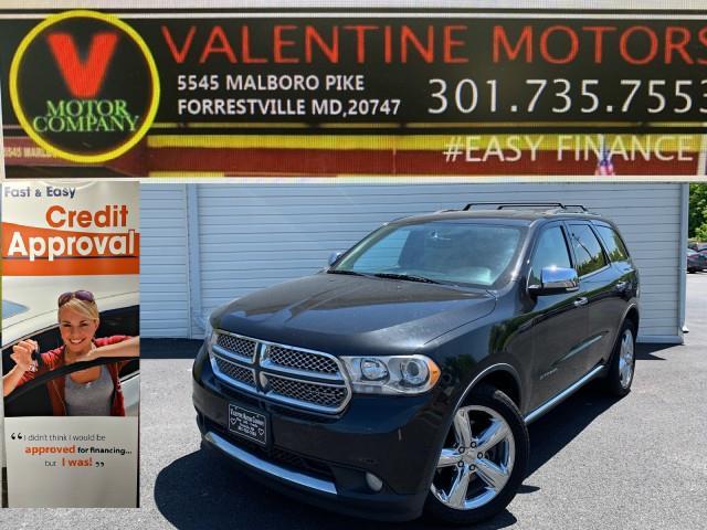 Used Dodge Durango Citadel 2011 | Valentine Motor Company. Forestville, Maryland