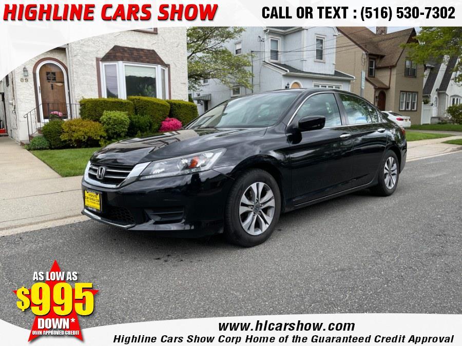 Used 2015 Honda Accord Sedan in West Hempstead, New York   Highline Cars Show Corp. West Hempstead, New York