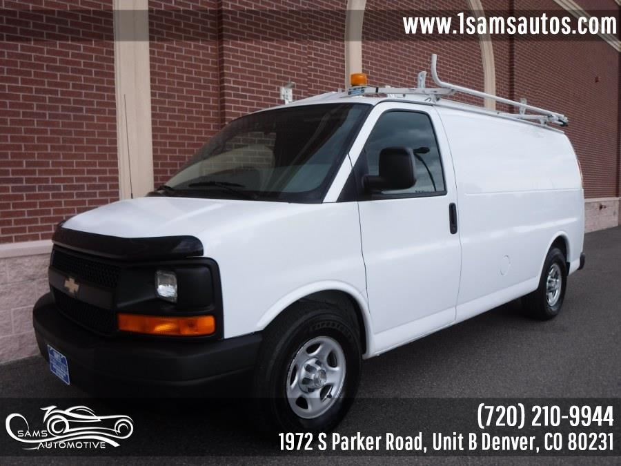 """Used Chevrolet Express Cargo Van AWD 1500 135"""" 2008   Sam's Automotive. Denver, Colorado"""