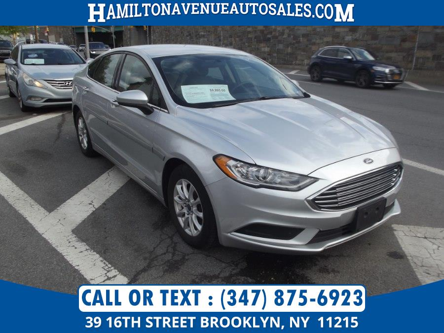 Used Ford Fusion S FWD 2018   Hamilton Avenue Auto Sales DBA Nyautoauction.com. Brooklyn, New York