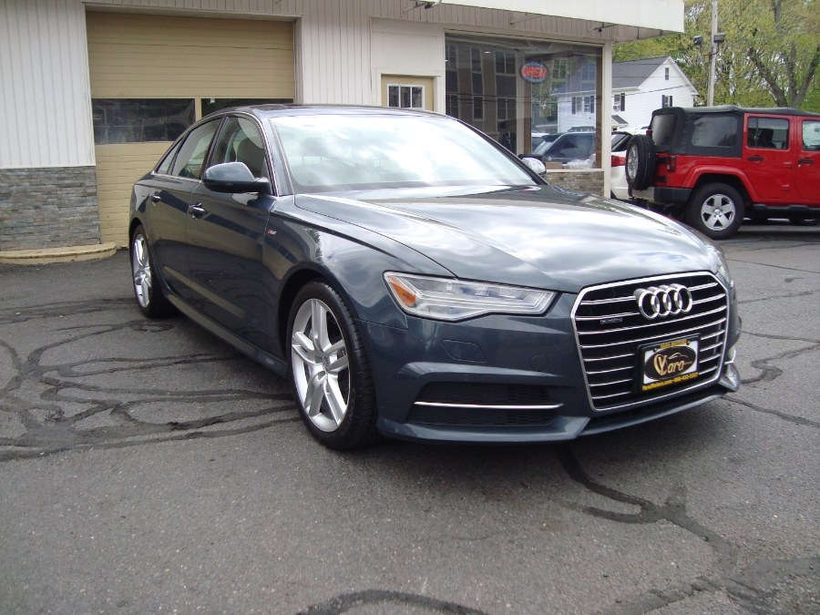 Used 2016 Audi A6 in Manchester, Connecticut | Yara Motors. Manchester, Connecticut