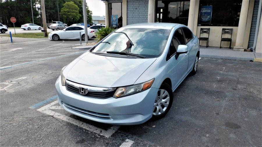 Used 2012 Honda Civic Sdn in Winter Park, Florida | Rahib Motors. Winter Park, Florida