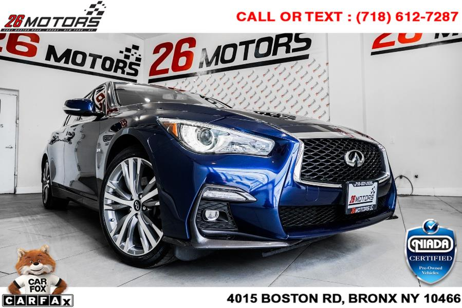 Used INFINITI Q50 3.0t LUXE AWD 2018   52Motors Corp. Woodside, New York