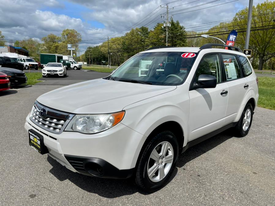 Used Subaru Forester 4dr Auto 2.5X PZEV 2012   Mike And Tony Auto Sales, Inc. South Windsor, Connecticut