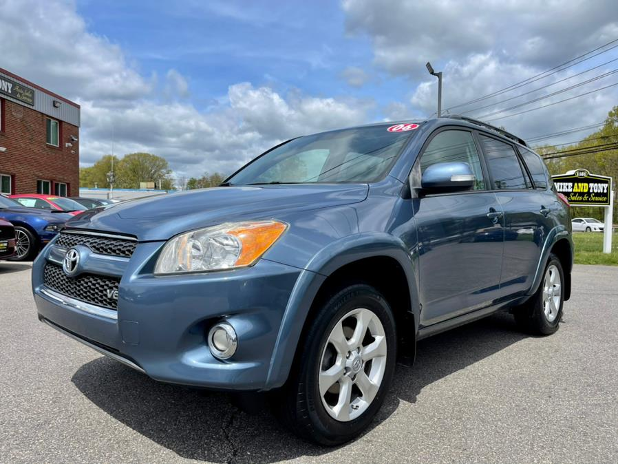 Used Toyota RAV4 4WD 4dr V6 5-Spd AT Ltd (Natl) 2009 | Mike And Tony Auto Sales, Inc. South Windsor, Connecticut