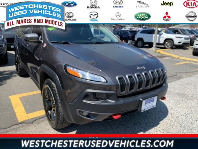 Used 2018 Jeep Cherokee in White Plains, New York | Westchester Used Vehicles. White Plains, New York
