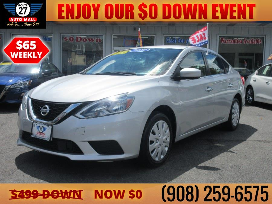 Used 2018 Nissan Sentra in Linden, New Jersey   Route 27 Auto Mall. Linden, New Jersey