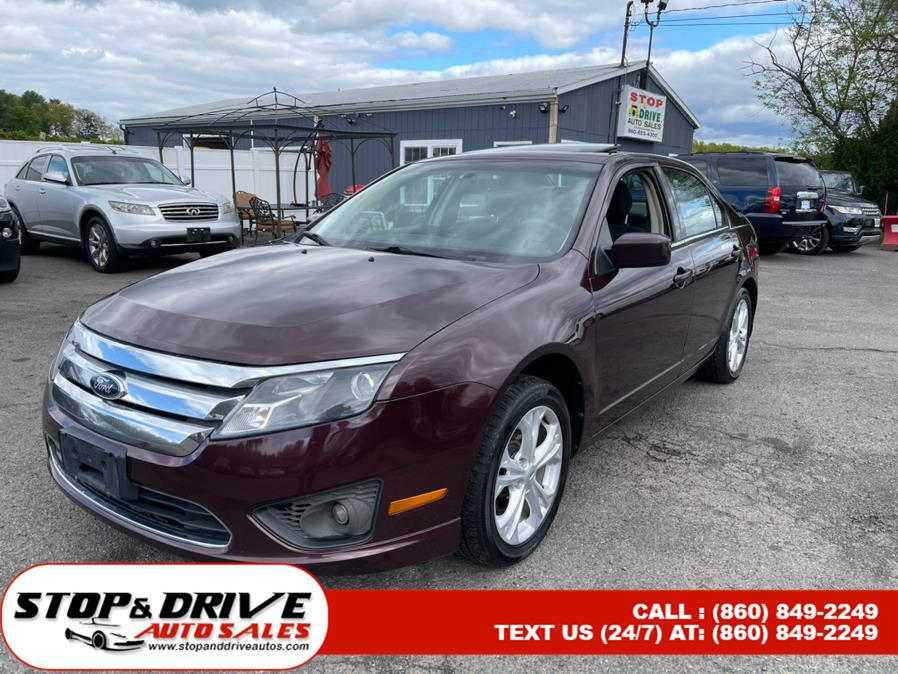 Used 2012 Ford Fusion in East Windsor, Connecticut | Stop & Drive Auto Sales. East Windsor, Connecticut