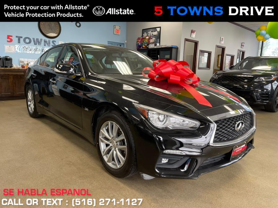 Used INFINITI Q50 2.0t PURE AWD 2018   5 Towns Drive. Inwood, New York