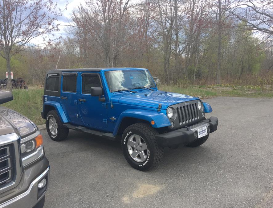 Used Jeep Wrangler Unlimited 4WD 4dr Sport 2014   Rockland Motor Company. Rockland, Maine
