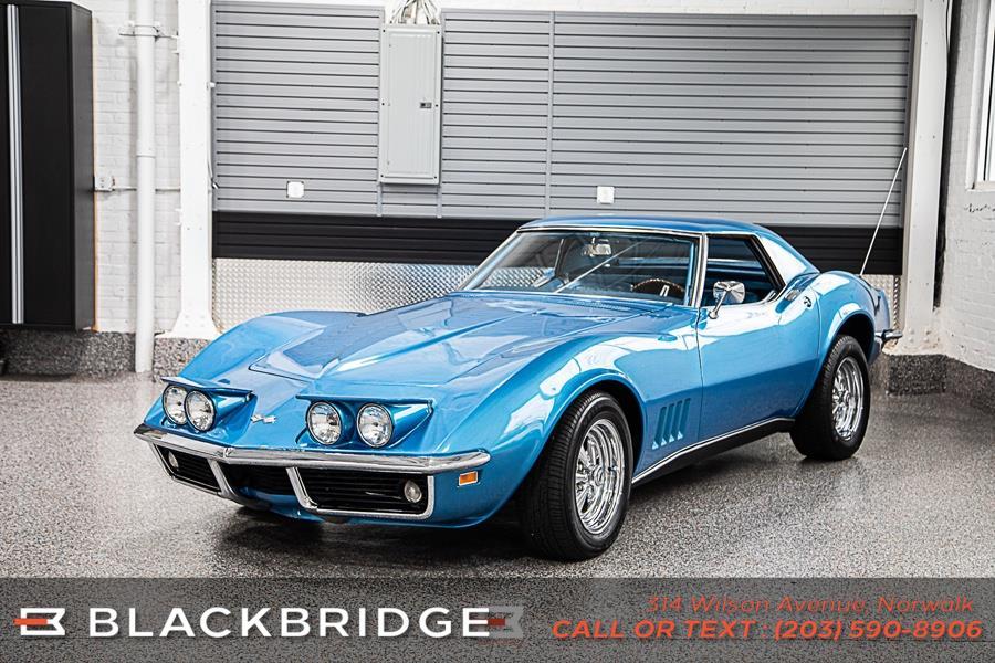 Used Chevrolet Corvette Convertible 1968 | Black Bridge Motors, LLC. Norwalk, Connecticut