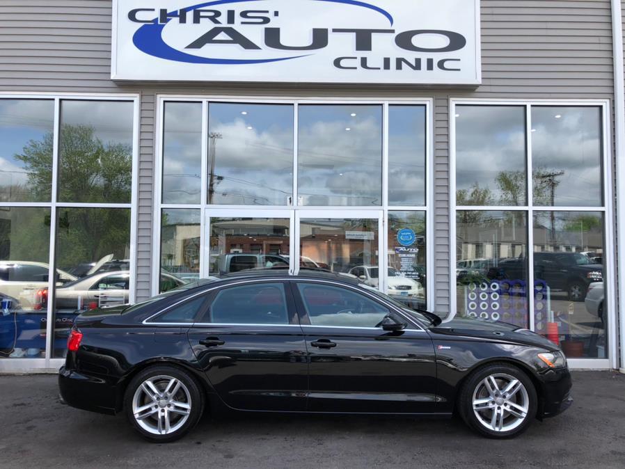 Used Audi A6 4dr Sdn quattro 3.0T Premium Plus 2012 | Chris's Auto Clinic. Plainville, Connecticut
