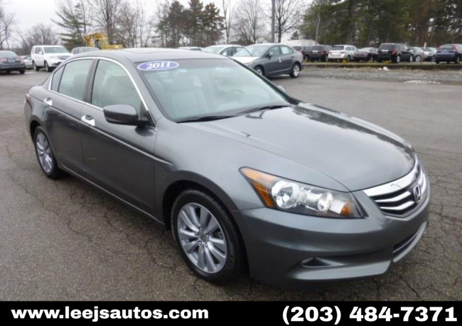 Used 2011 Honda Accord Sdn in North Branford, Connecticut | LeeJ's Auto Sales & Service. North Branford, Connecticut