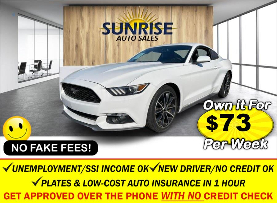 Used Ford Mustang 2dr Fastback EcoBoost 2016   Sunrise Auto Sales. Rosedale, New York