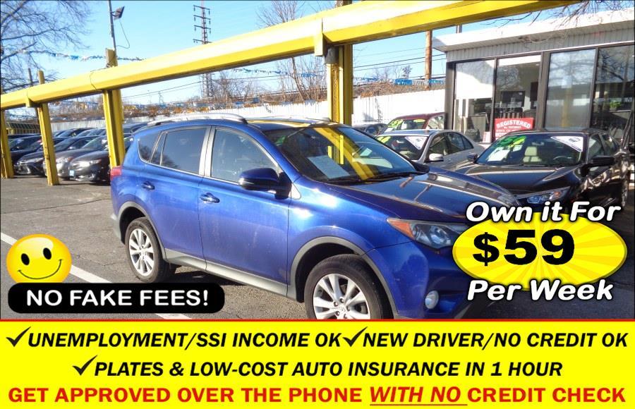 Used Toyota RAV4 AWD 4dr Limited (Natl) 2014   Sunrise Auto Sales. Rosedale, New York