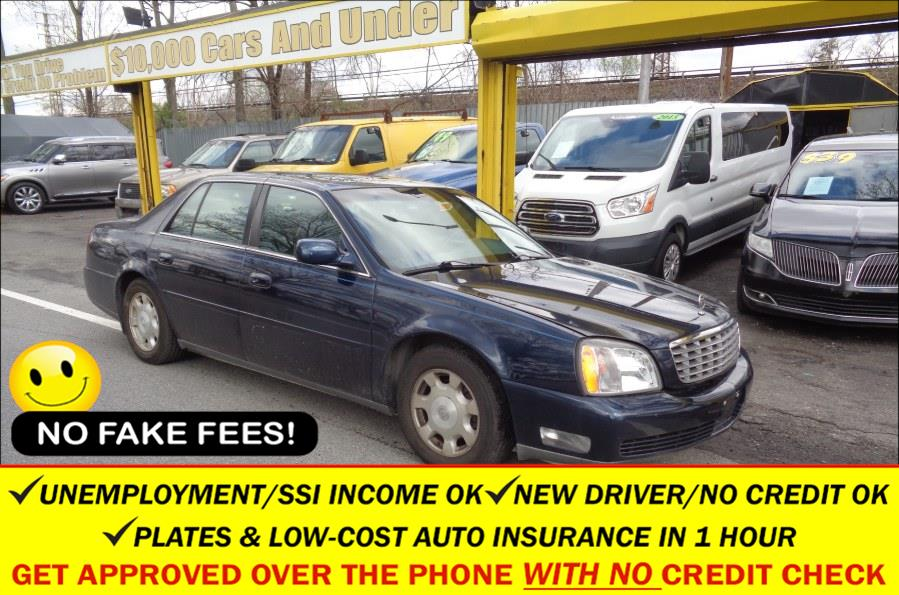 Used Cadillac DeVille 4dr Sdn 2002 | Sunrise Auto Sales. Rosedale, New York